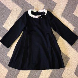 EUC Jacadi Paris pleated dress